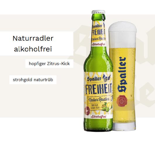 Spalter Naturradler alkoholfrei - ab sofort erhältlich