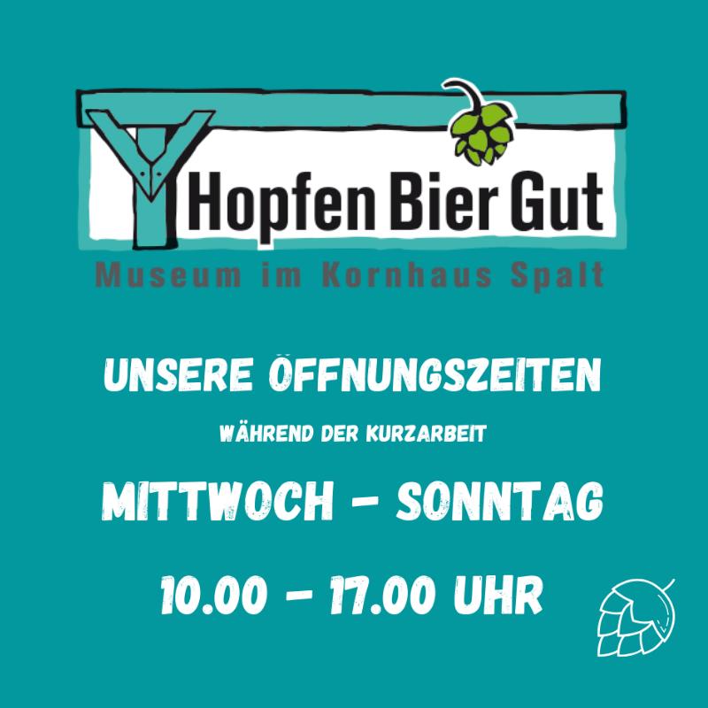 Öffnungszeiten HopfenBierGut