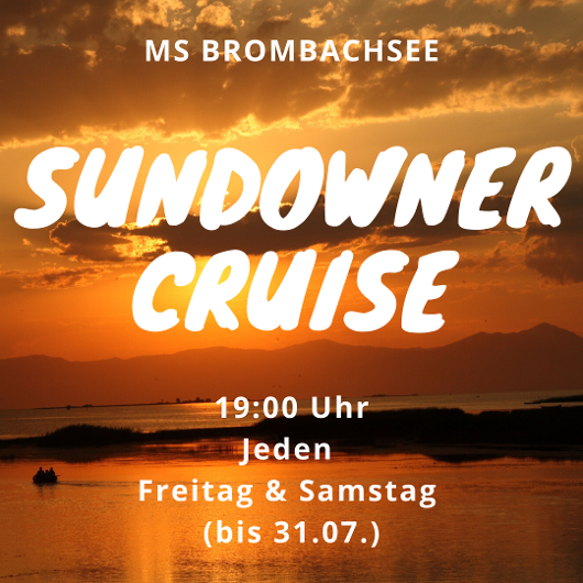 Sundowner Cruise