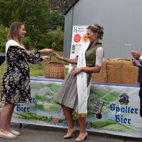 Neue Spalter Hopfenkönigin