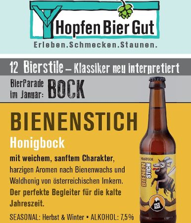 Bierparade im Januar