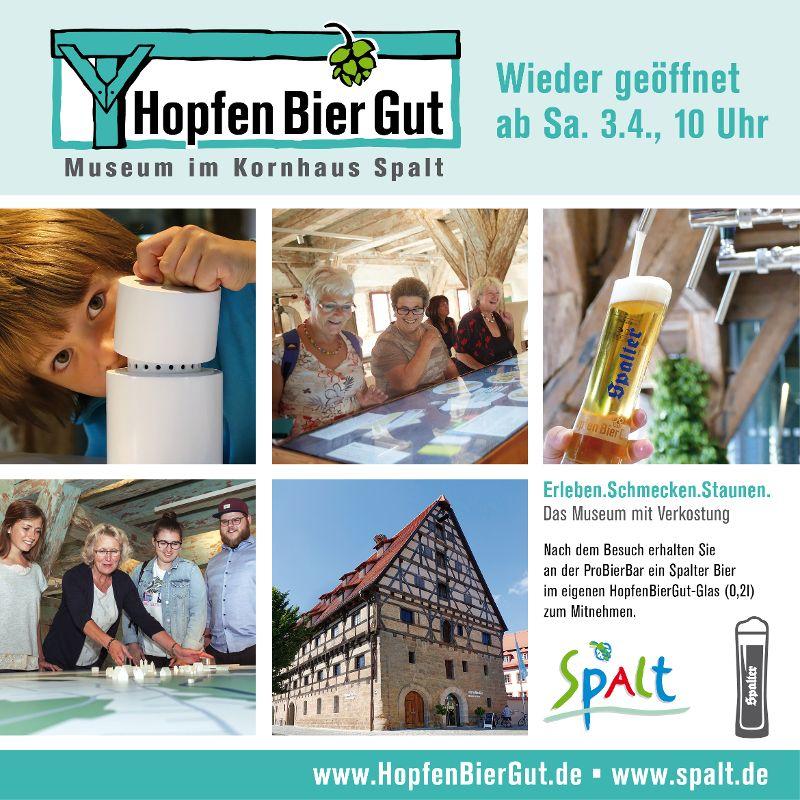Museum HopfenBierGut Wiedereröffnung