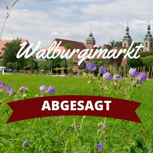 Walburgimarkt abgesagt