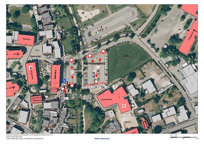 Sperrung Kornhausparkplatz
